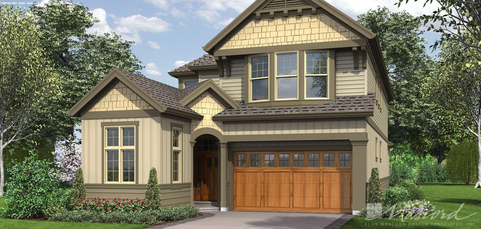 Mascord House Plan 2398: The Williams