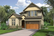 Front Rendering of Mascord House Plan 2398 - The Williams