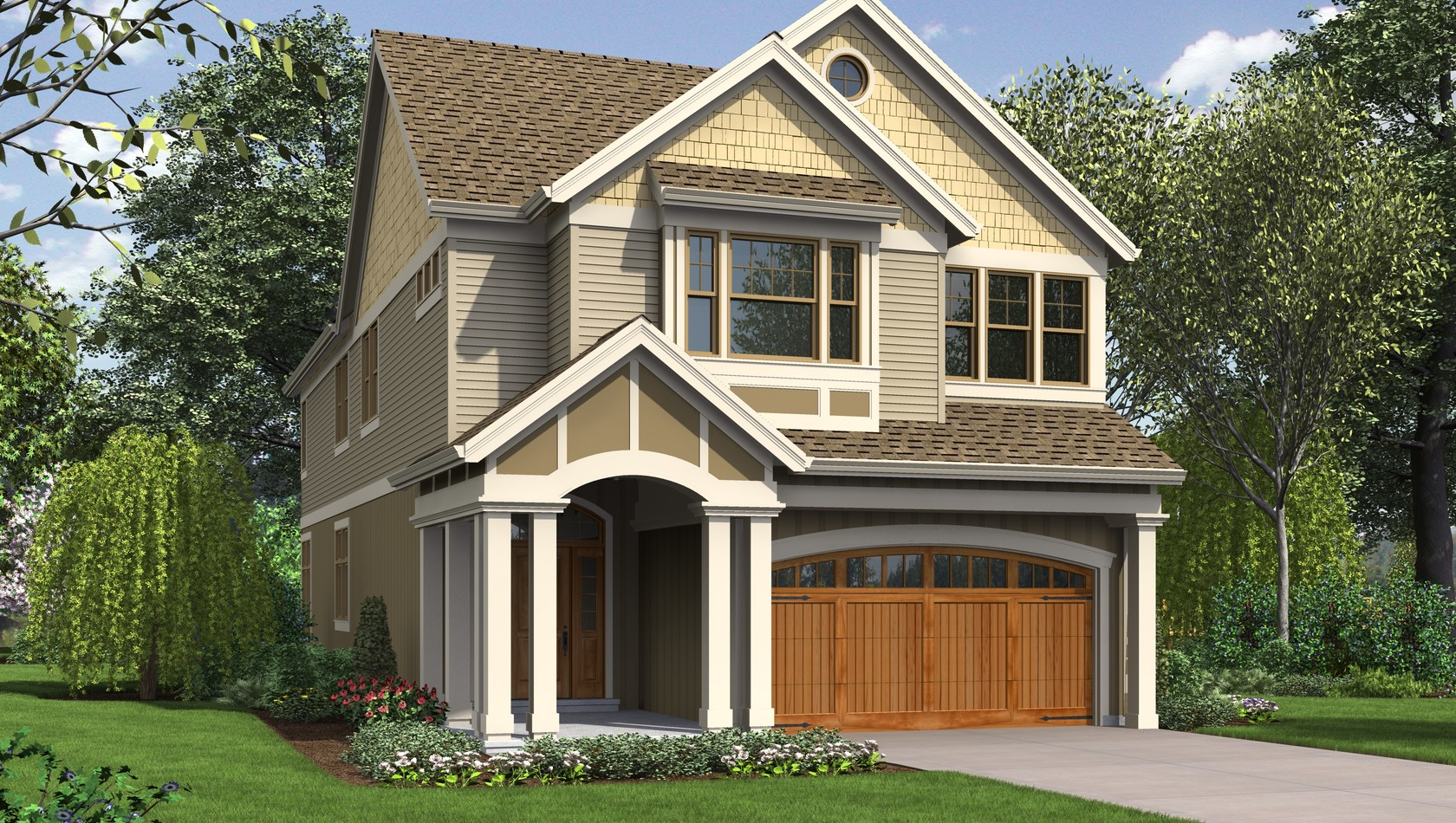 Main image for house plan 2399: The Laurelhurst