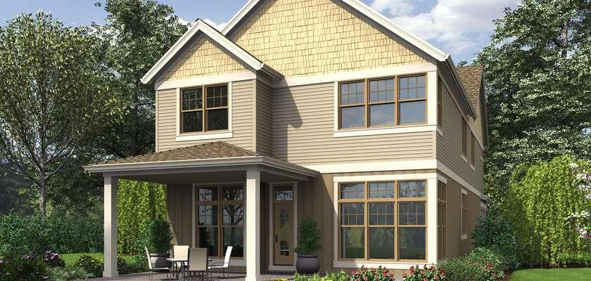 Mascord House Plan 2399: The Laurelhurst