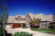 Front Exterior of Mascord House Plan 2401 - The Kirkwood