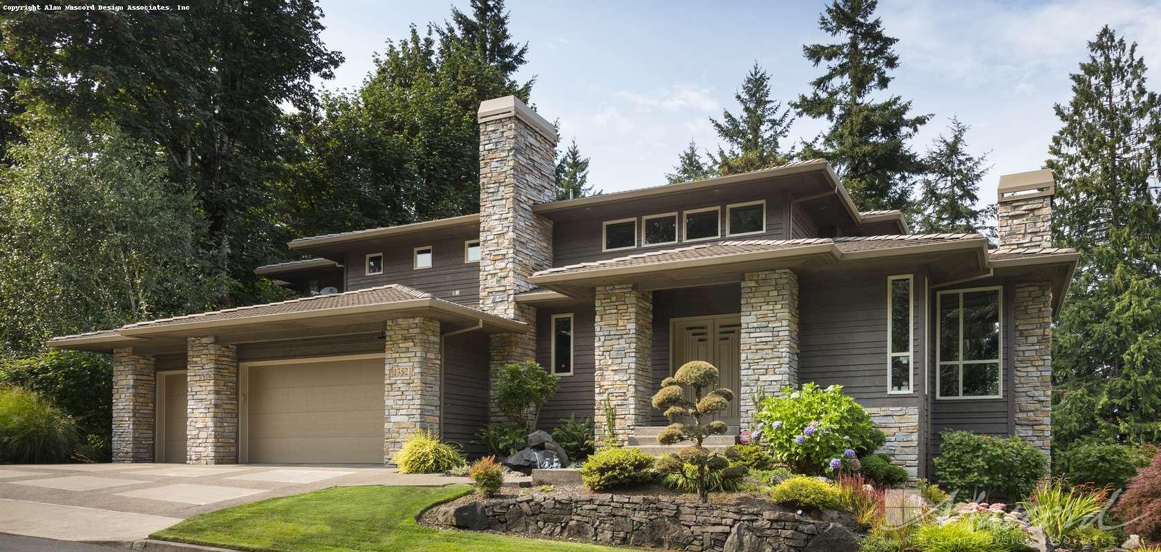 Mascord House Plan 2405: The Maxfield