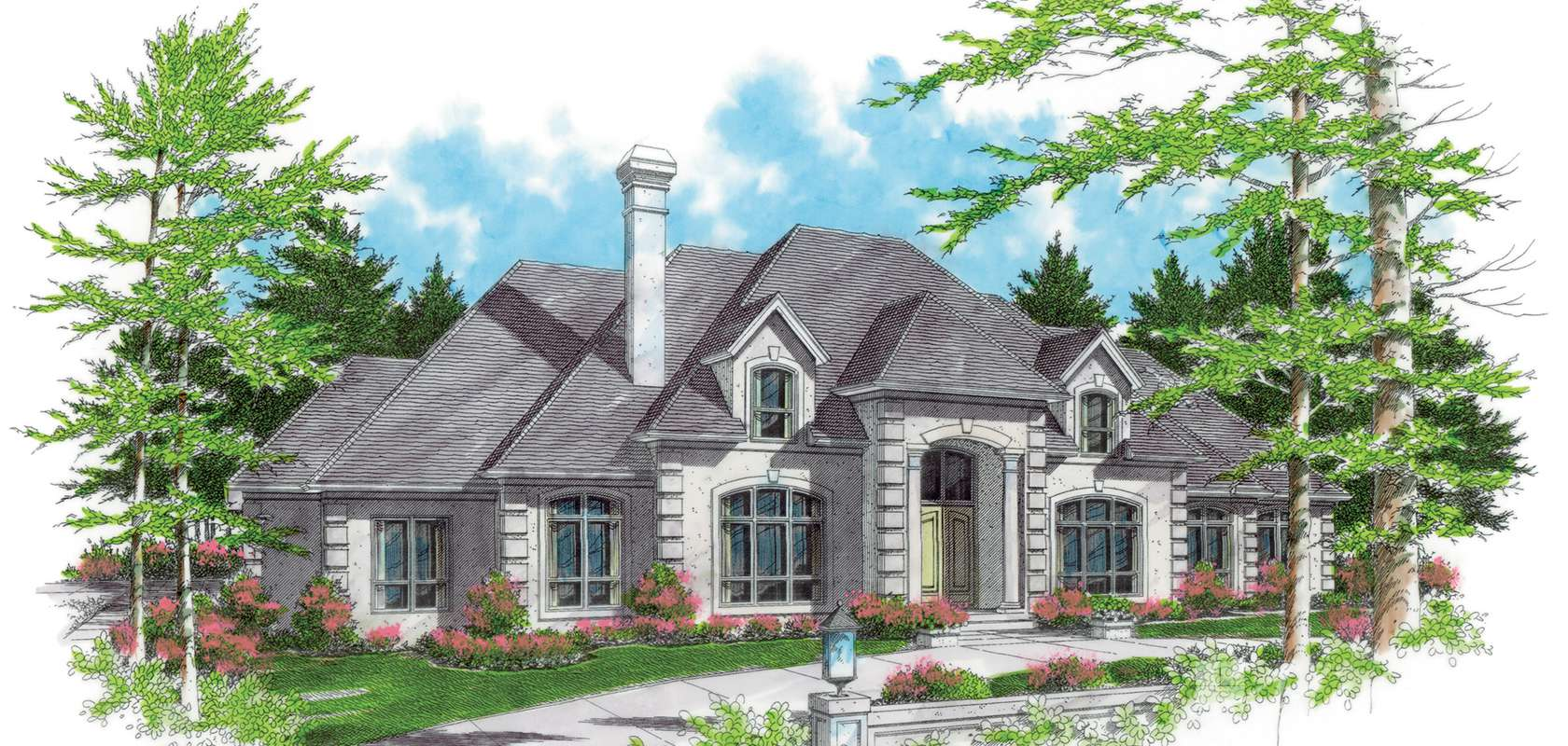 Mascord House Plan 2413B: The Wellington