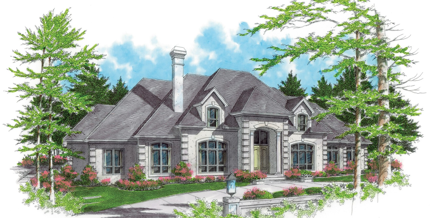 Mascord house plan 2413b the wellington for Wellington house designs