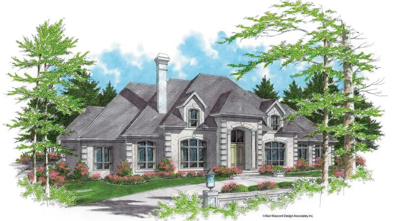 Mascord House Plan 2413b The Wellington