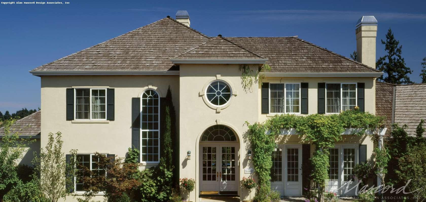 Mascord House Plan 2415: The Merino