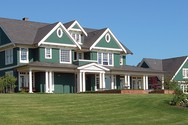 Front Exterior of Mascord House Plan 2418 - The Parnell