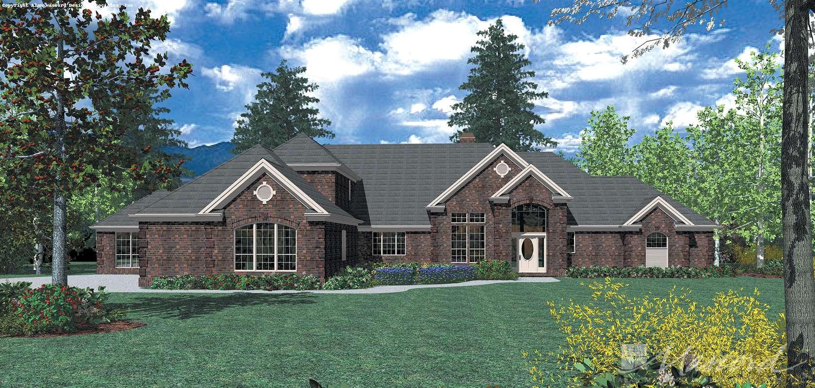 Mascord House Plan 2420: The Gatelyn