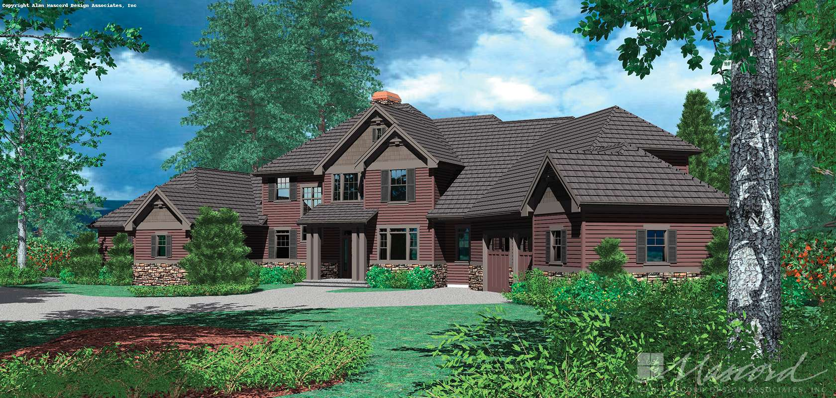 Mascord House Plan B2421: The Ingram