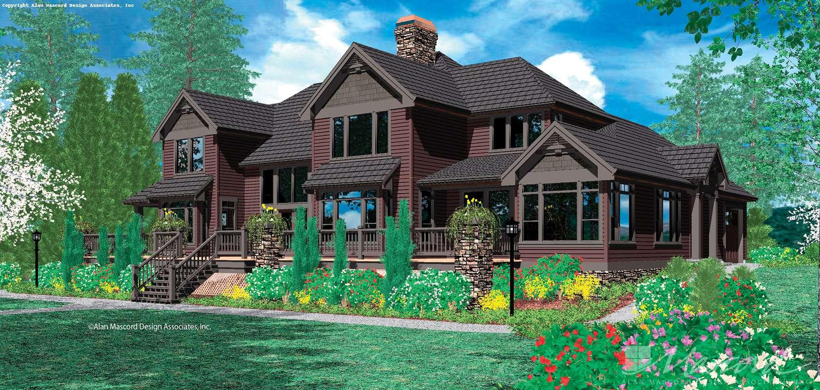 Mascord House Plan 2421: The Ingram