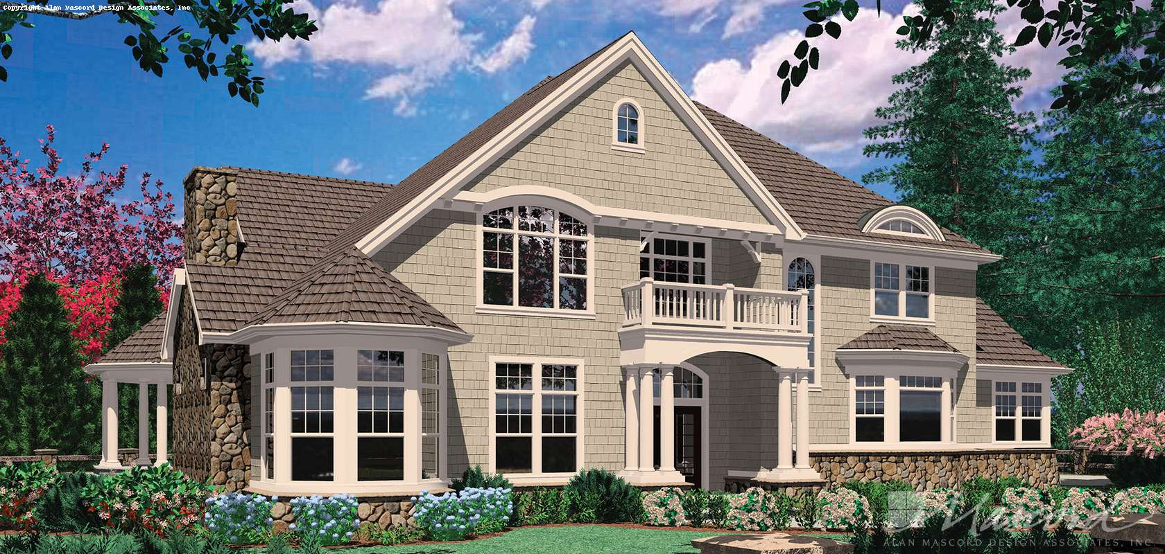 Mascord House Plan 2425: The Stolon