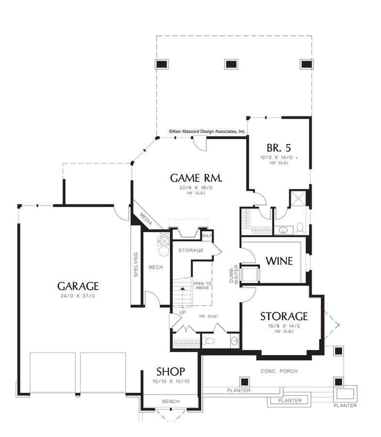 prairie house plan 2429 the kenison  4716 sqft  5 beds  4