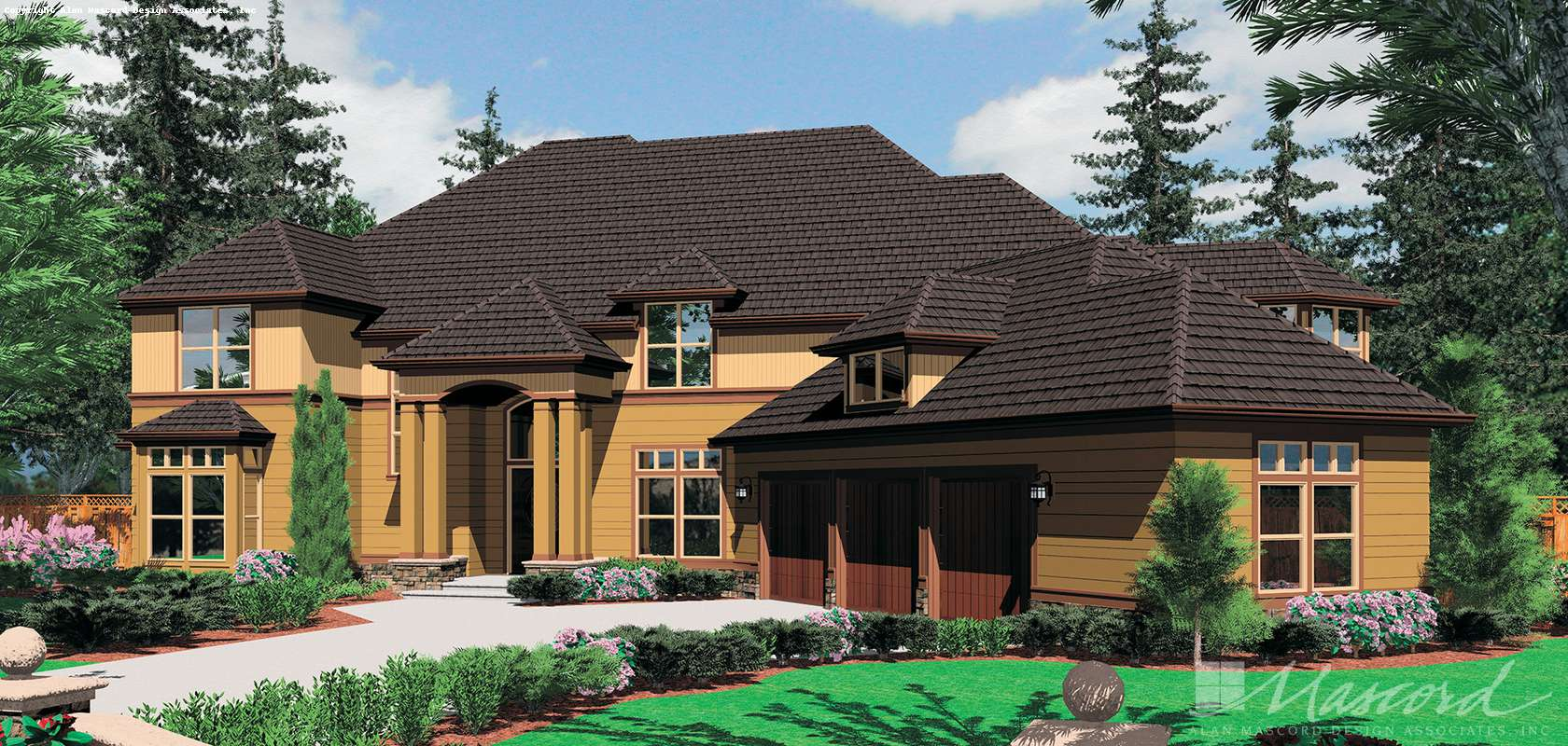 Mascord House Plan 2430: The Everton