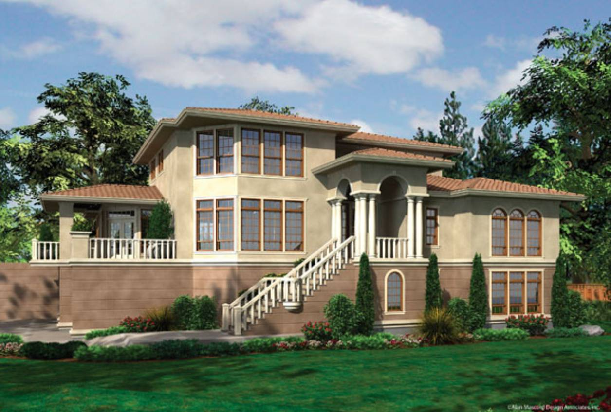spanish house plan - Mansion Architectural Styles