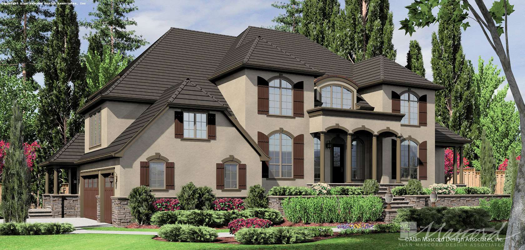 Mascord House Plan 2432: The Douglas