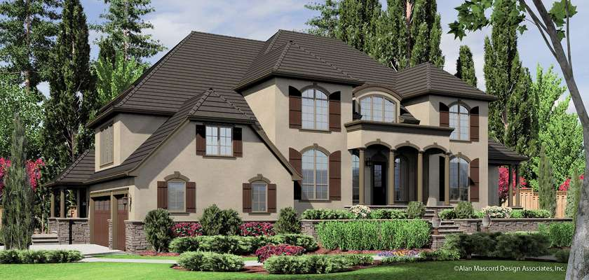 Mascord House Plan 2432: The Douglas