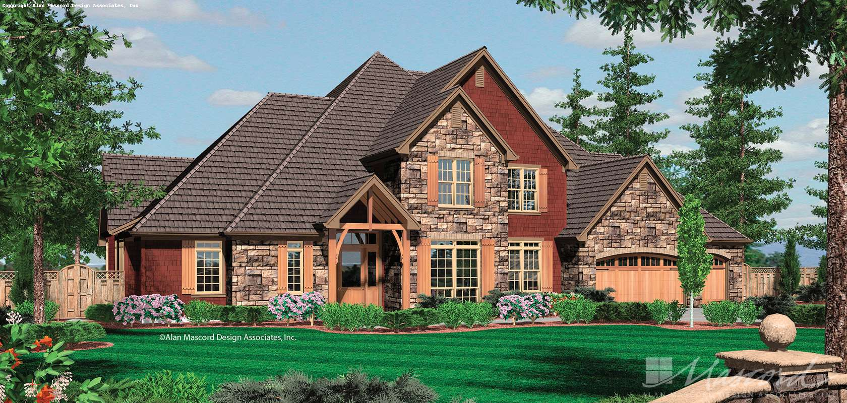 Mascord House Plan 2434: The Ellisville