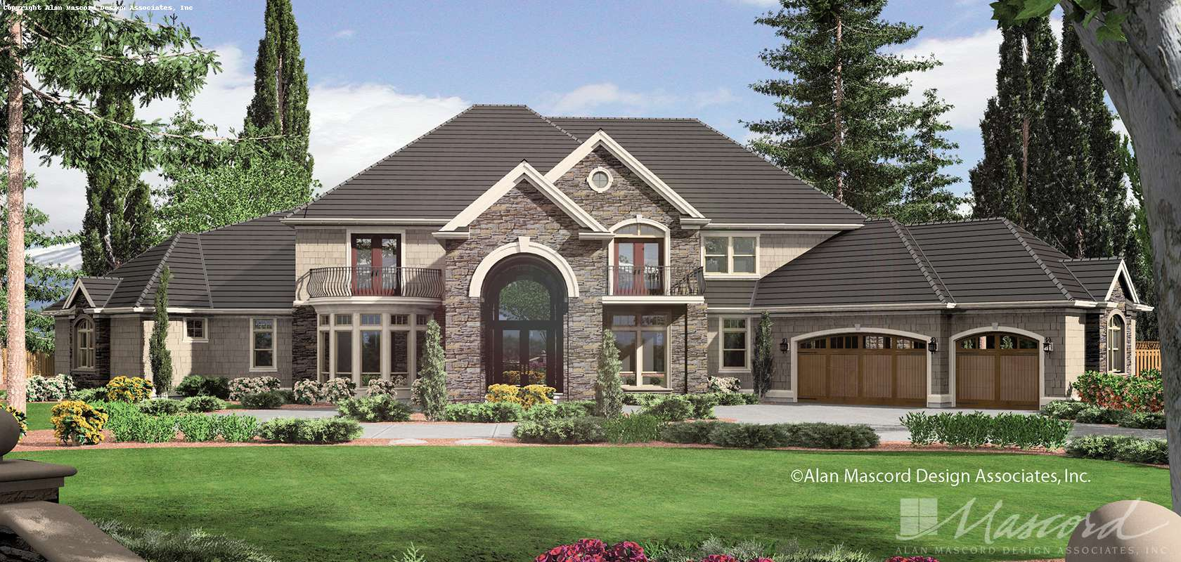 Mascord House Plan 2435: The Holden