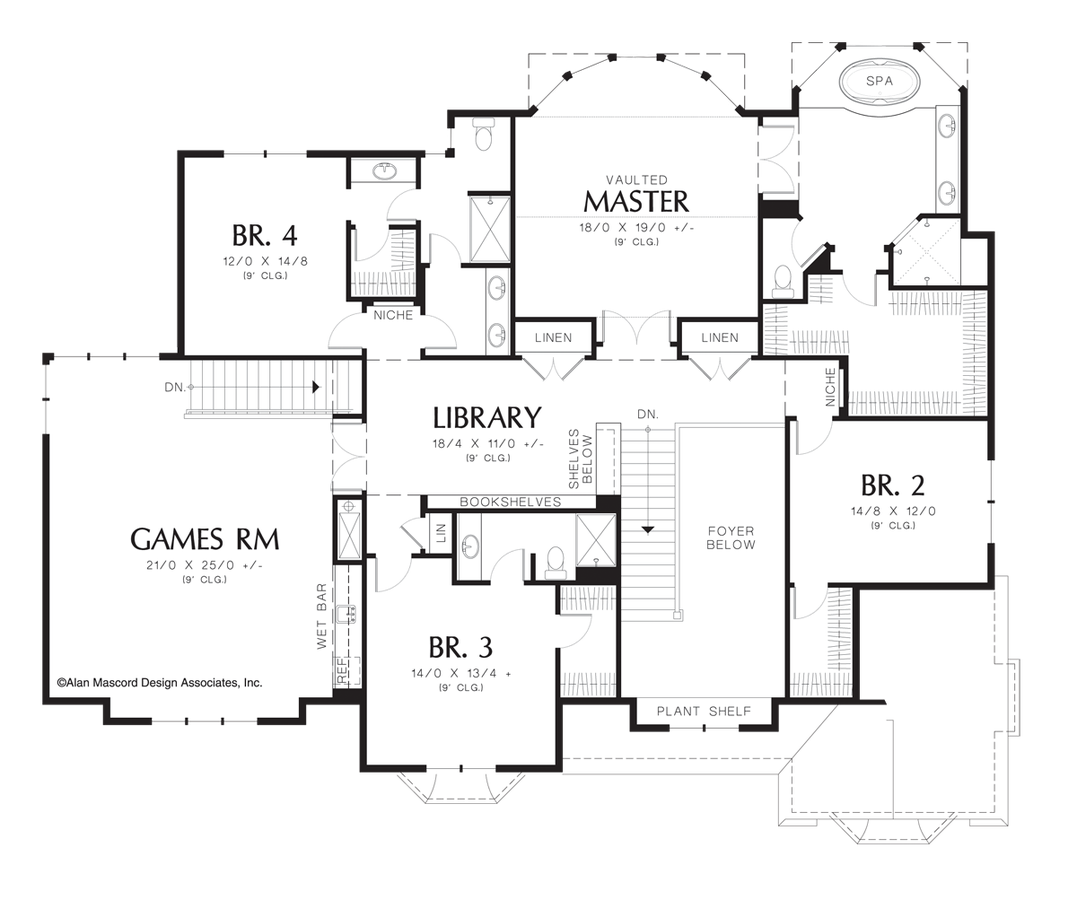 mascord house plan 2439 the harwood