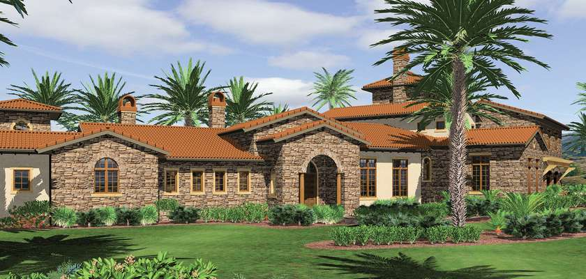 Mascord House Plan 2440: The Franciscan