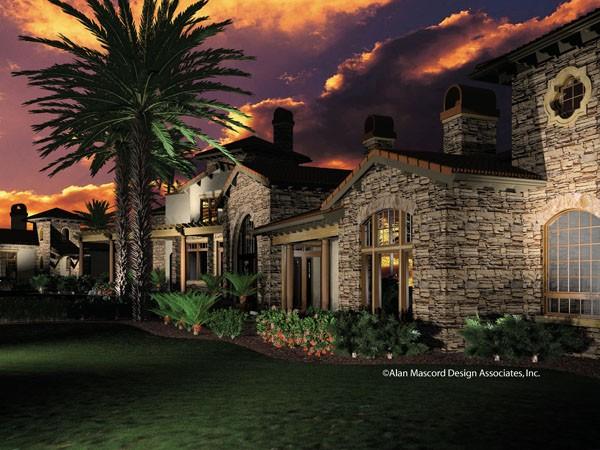Mediterranean House Plan 2440 - the Franciscan |