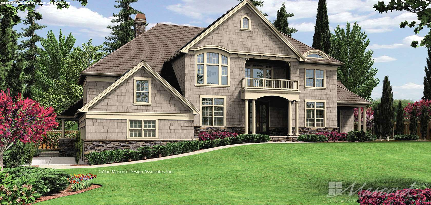 Mascord House Plan B2441: The Anniston