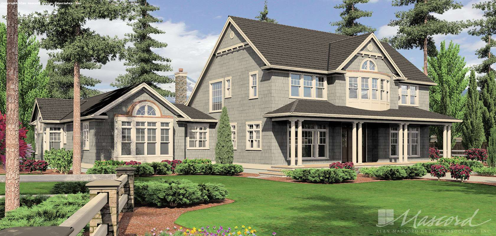 Mascord House Plan B2443: The Seligman