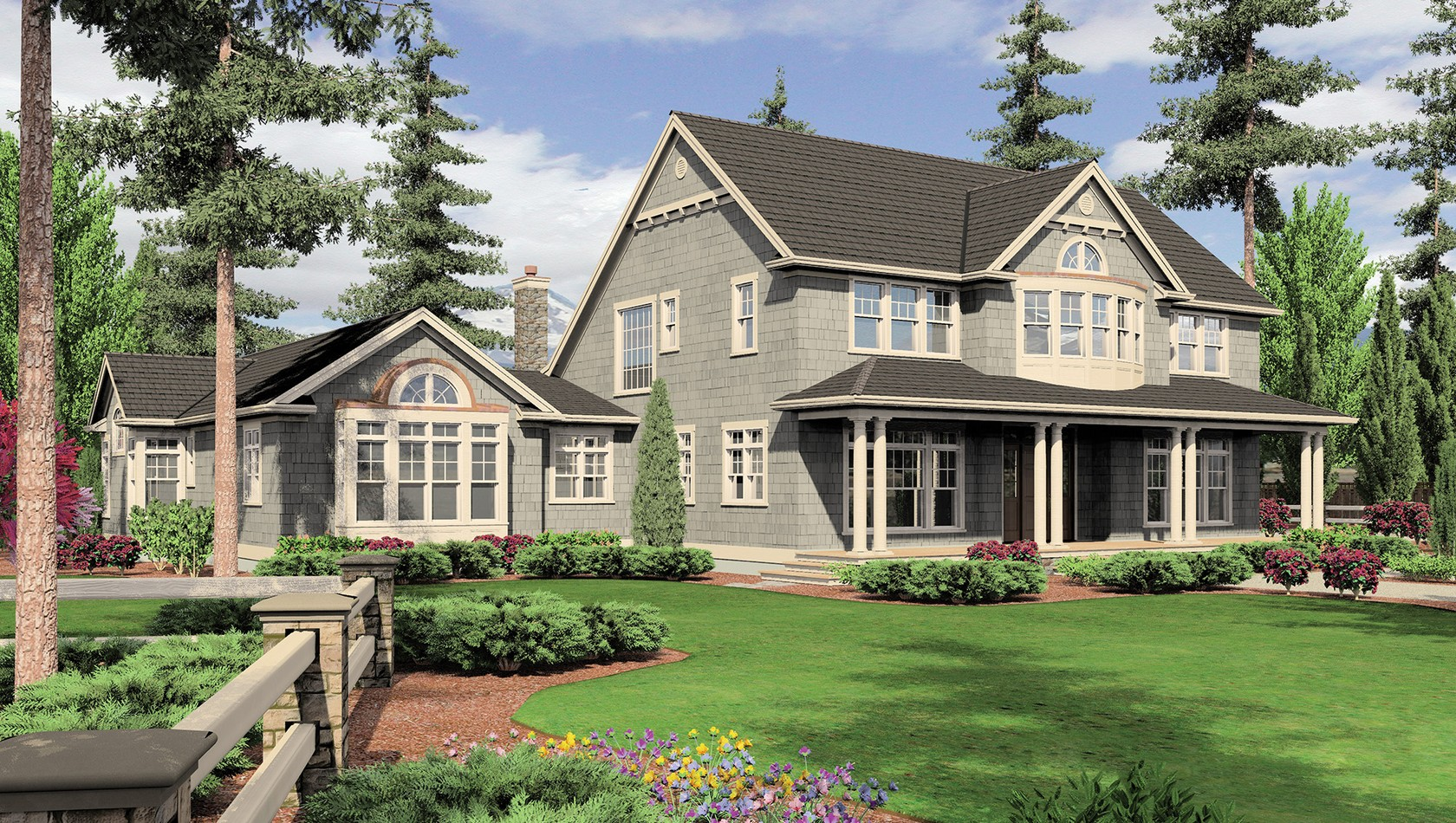 Main image for house plan B2443: The Seligman