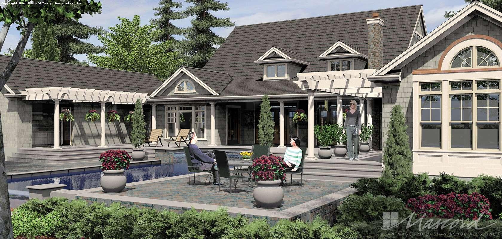 Mascord House Plan 2443: The Seligman