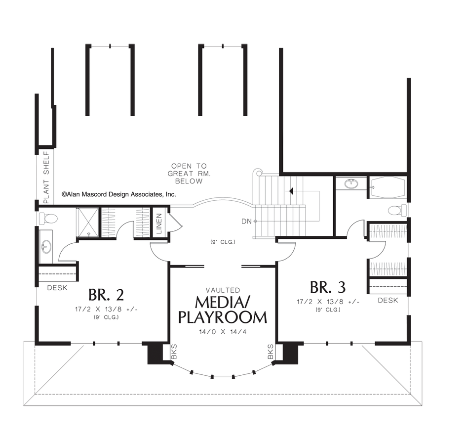 Image for Seligman-Master Suite Features His and Hers Bathrooms-Upper Floor Plan