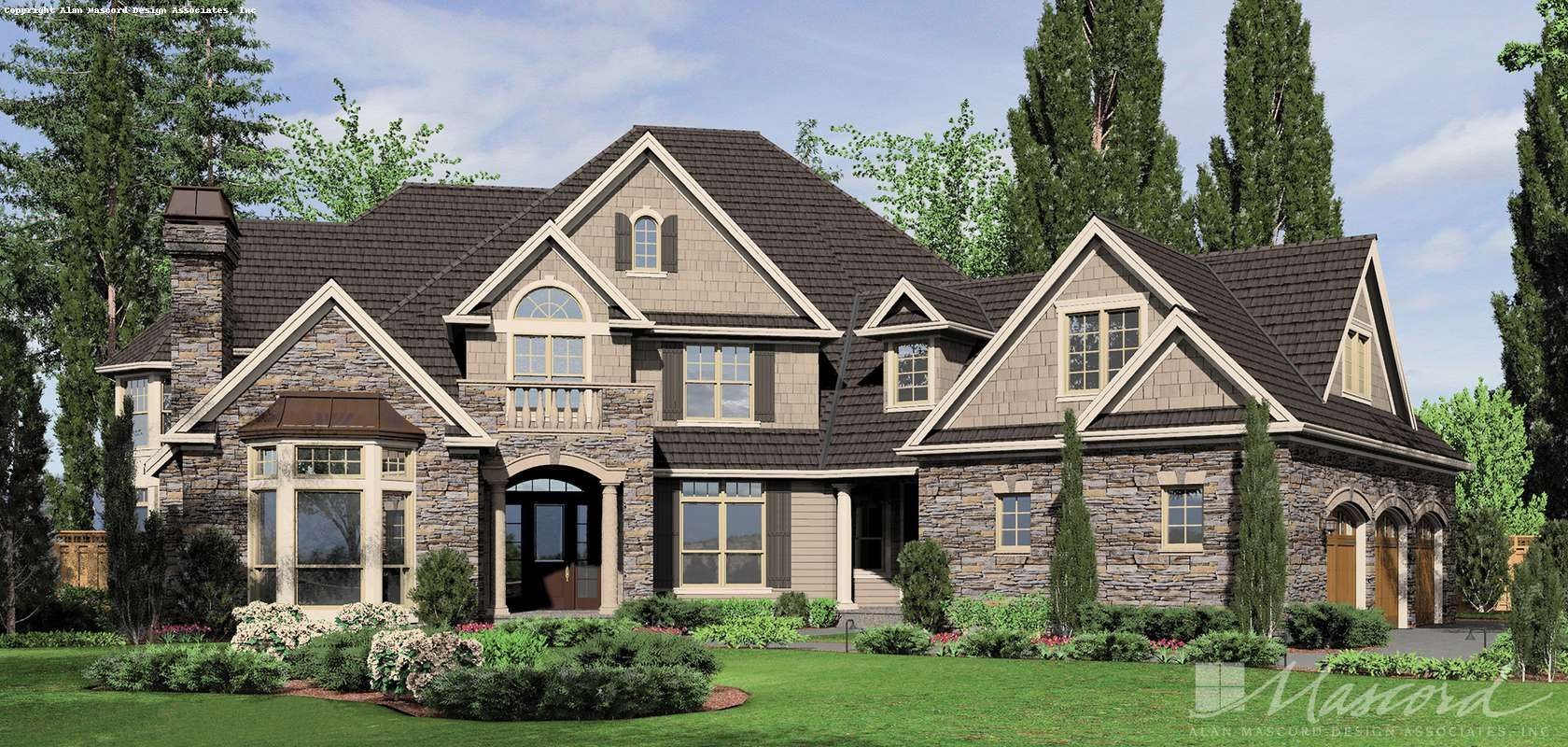 Mascord House Plan 2449: The Hallsville