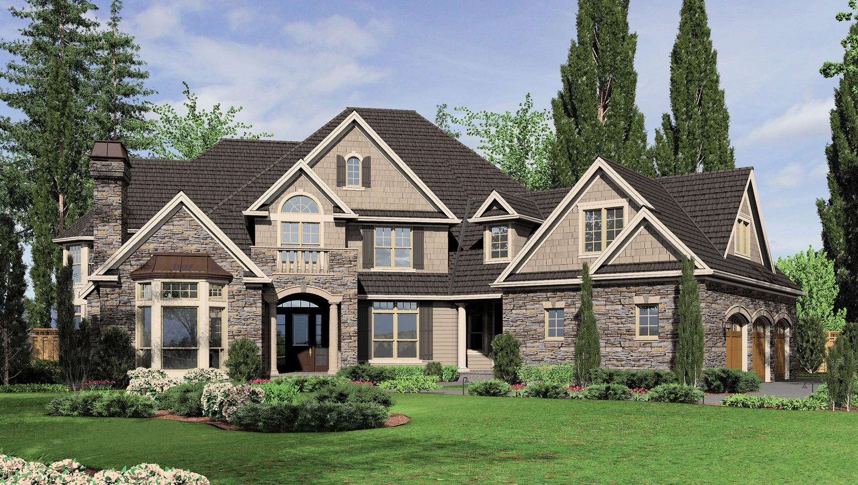 European House Plan 2449 The Hallsville 6775 Sqft 5 Beds 5 1 Baths