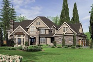 Front Rendering of Mascord House Plan 2449 - The Hallsville