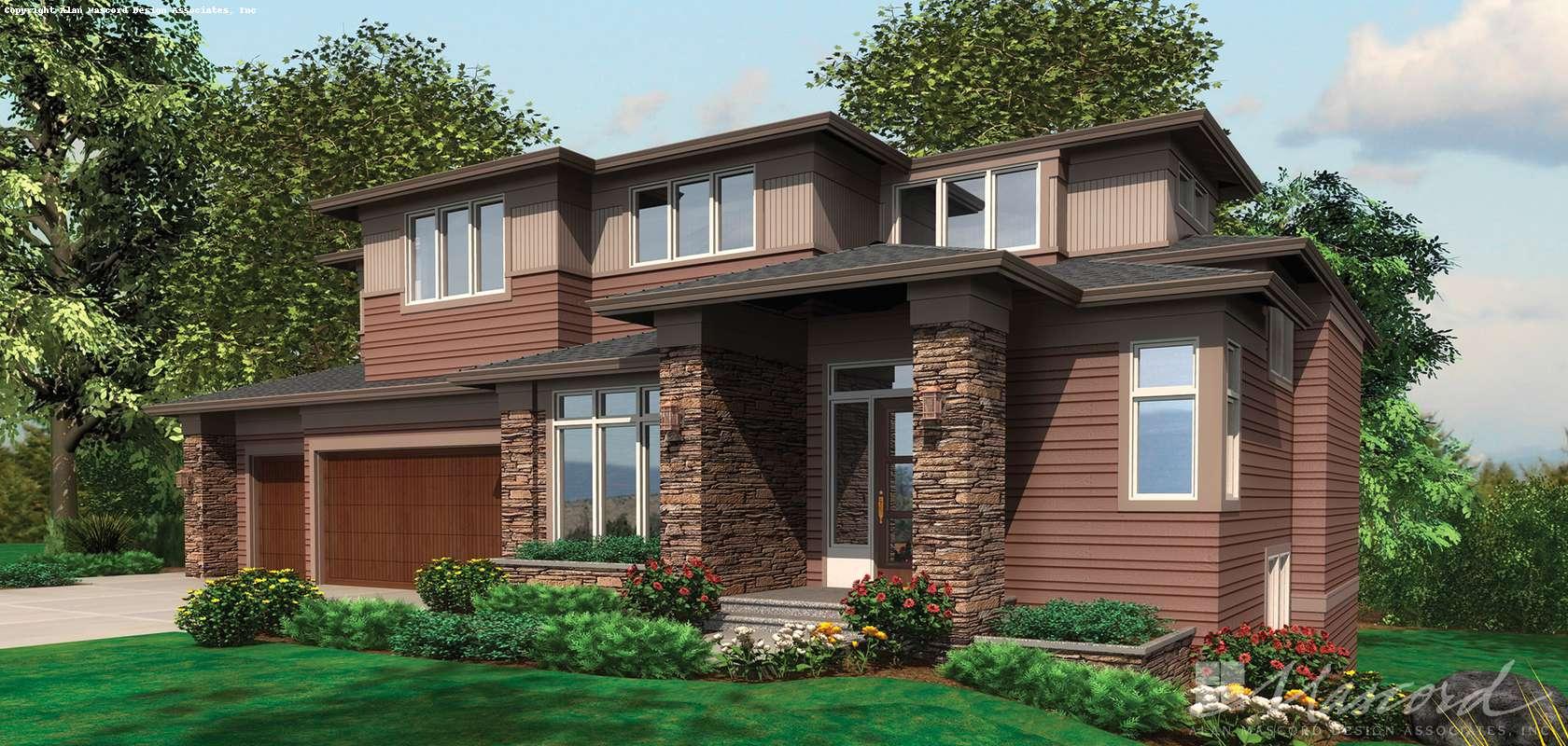 Mascord House Plan 2450: The Karstan
