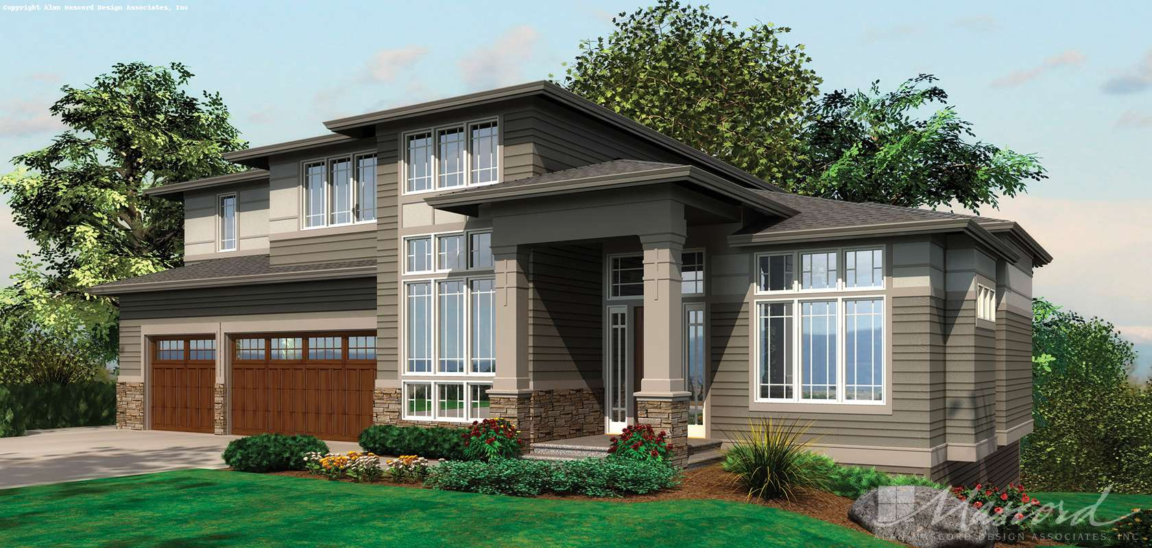 Mascord House Plan 2451: The Rylander