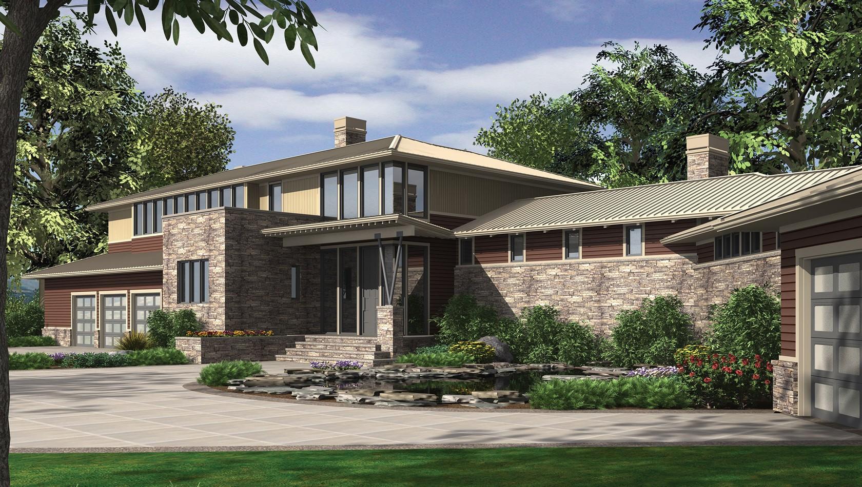 Main image for house plan 2453: The Aurea