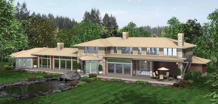 Mascord House Plan 2453: The Aurea