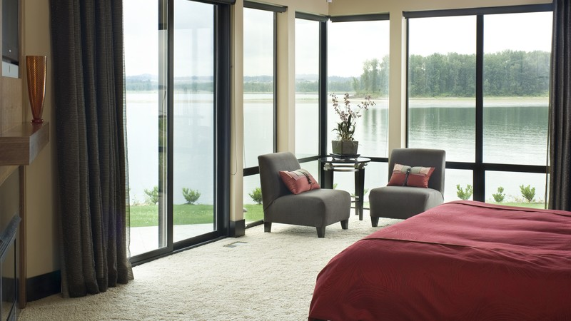 Image for Aurea-Modern Plan that Blends with Land-Master Bedroom