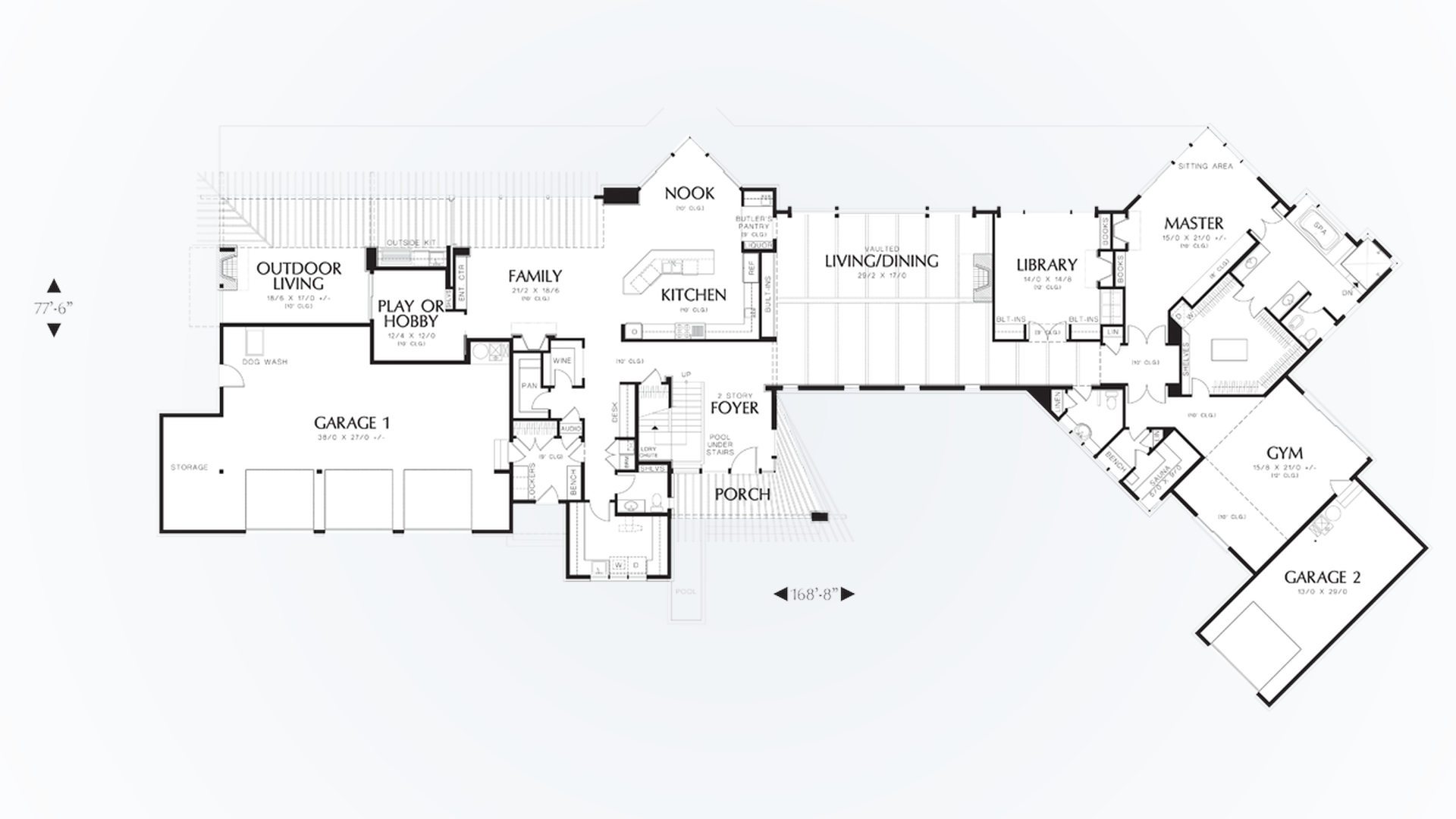 image - House Plans With Gym