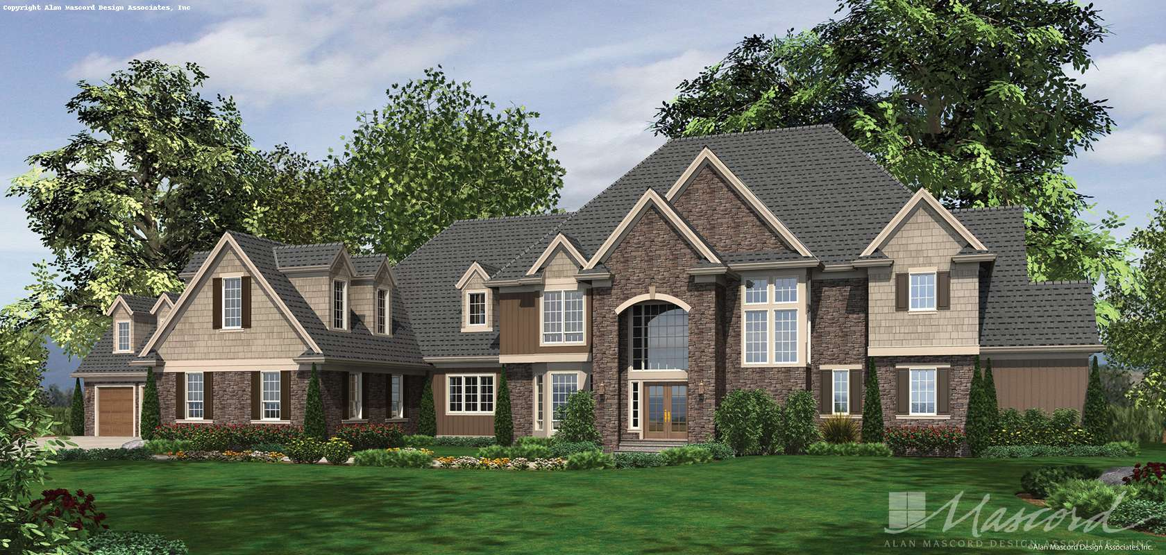 Mascord House Plan 2454: The Elstad