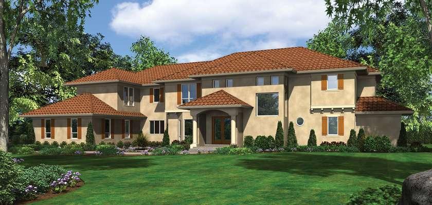 Mascord House Plan 2454B: The Valencia