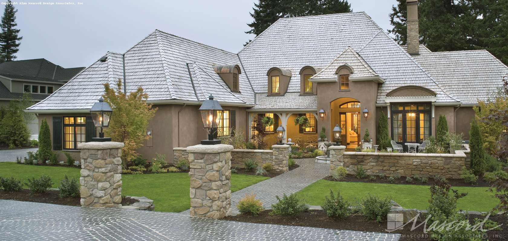 Mascord House Plan 2459: The Terrebonne