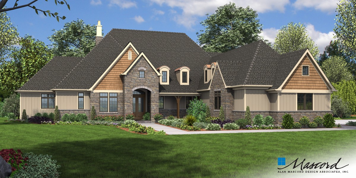 Image for Williamson-Sumptuous Manor Suited to Lakeside Living-Front Rendering