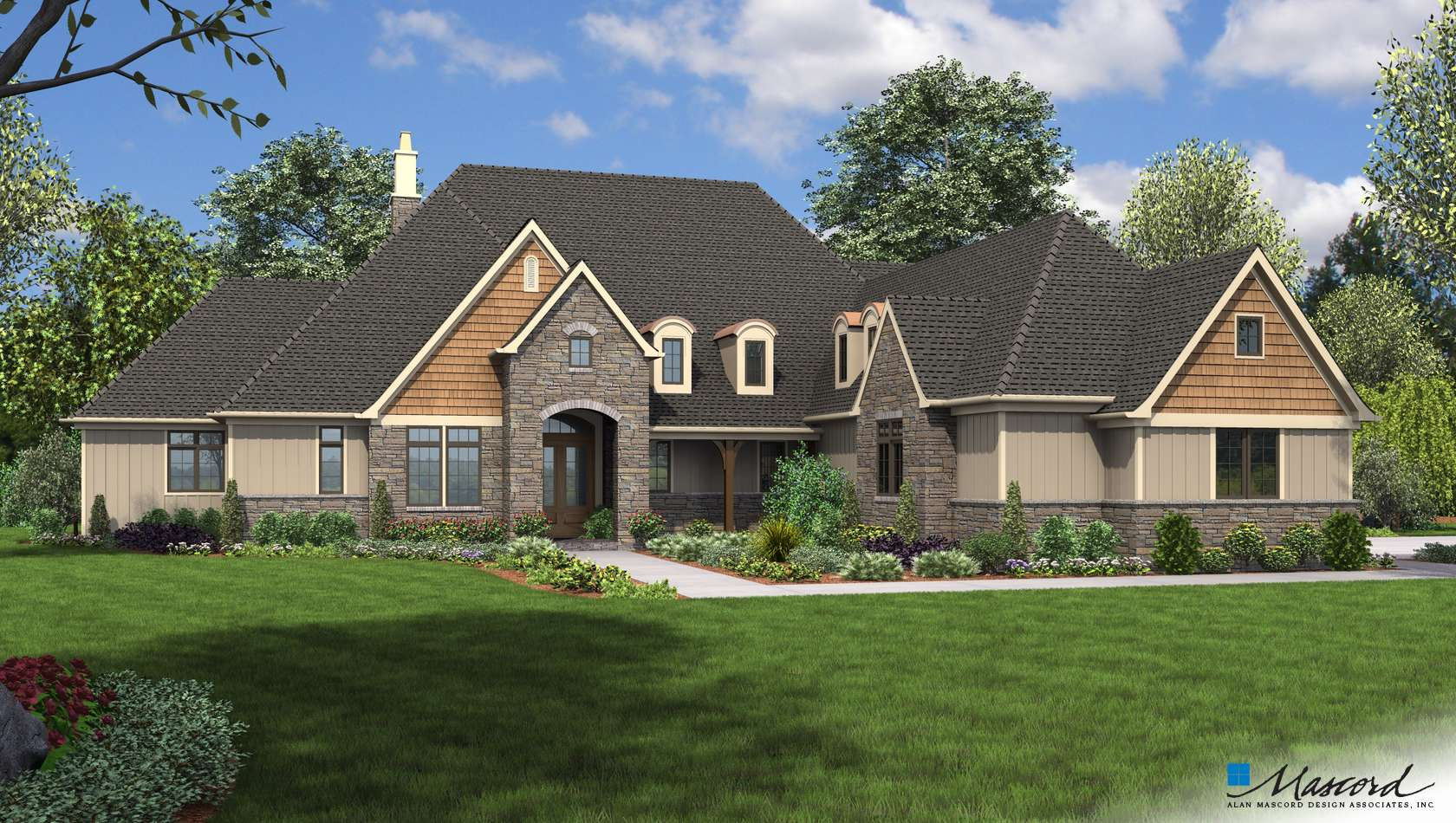 Main image for house plan 2459A: The Williamson
