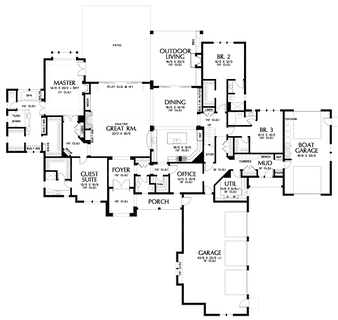 Image for Williamson-Sumptuous Manor Suited to Lakeside Living-Main Floor Plan