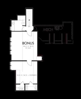 Image for Terrebonne-Featured in the 2007 Portland Street of Dreams-Upper Floor Plan
