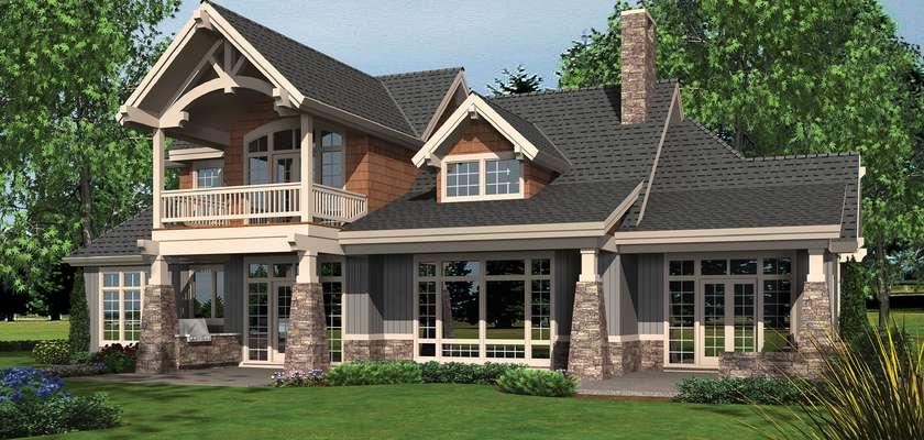 Mascord House Plan 2461: The Dennison