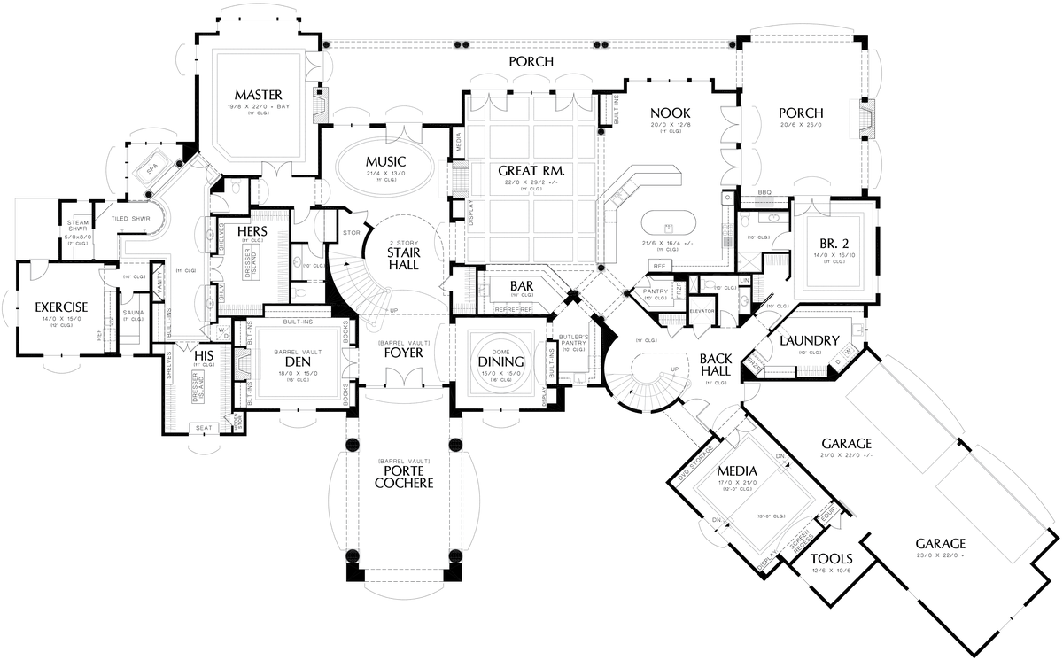 Image for Galloway-European Luxury Home Fit for Royalty-Main Floor Plan