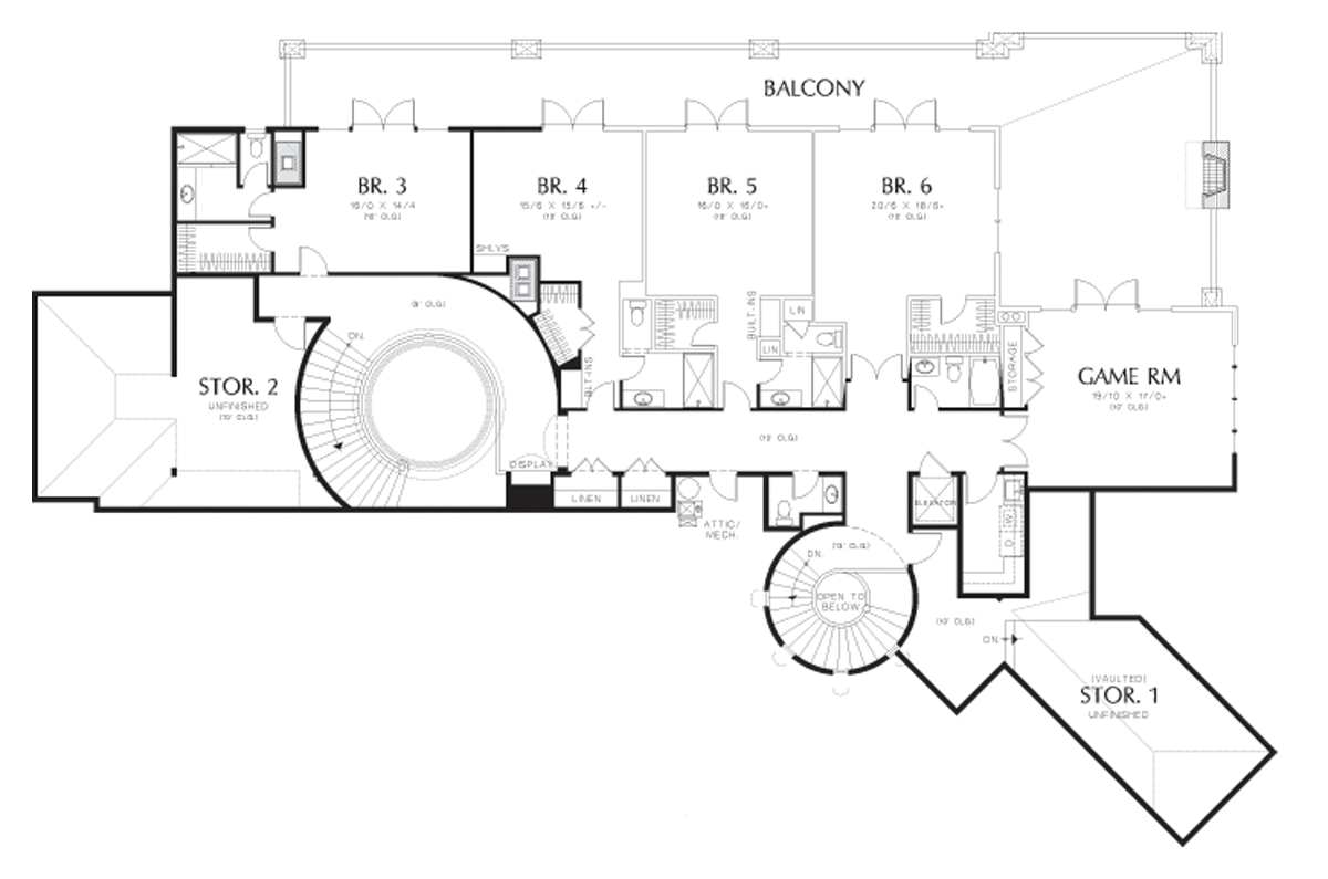 Image for Galloway-European Luxury Home Fit for Royalty-Upper Floor Plan