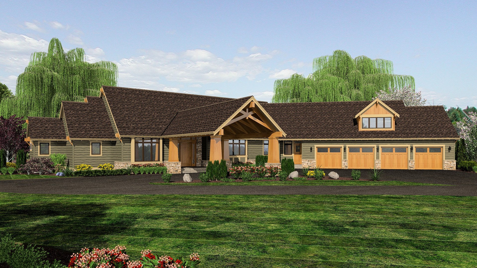 Craftsman house plan 2464 the manitoba 4339 sqft 4 for Manitoba house plans
